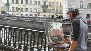ПИТЕР художника Сергея Любимова.