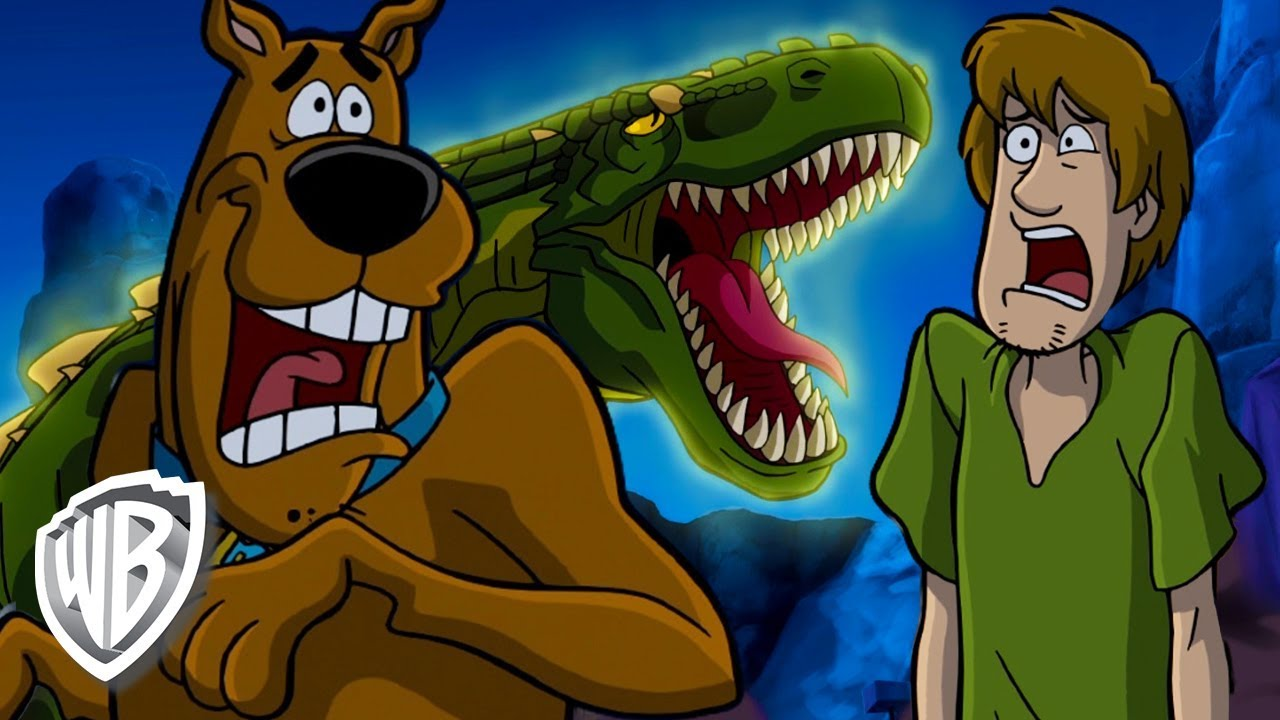 scoobydoo en espa241ol dinosaurio peligroso youtube