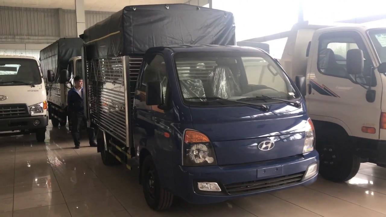 Xe tải Hyundai New Porter H150 tải trọng 1.5 tấn - YouTube