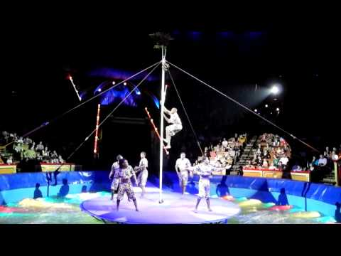 African circus show