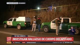 Carabineros investiga hallazgo de cadáver en zona rural de La Araucanía