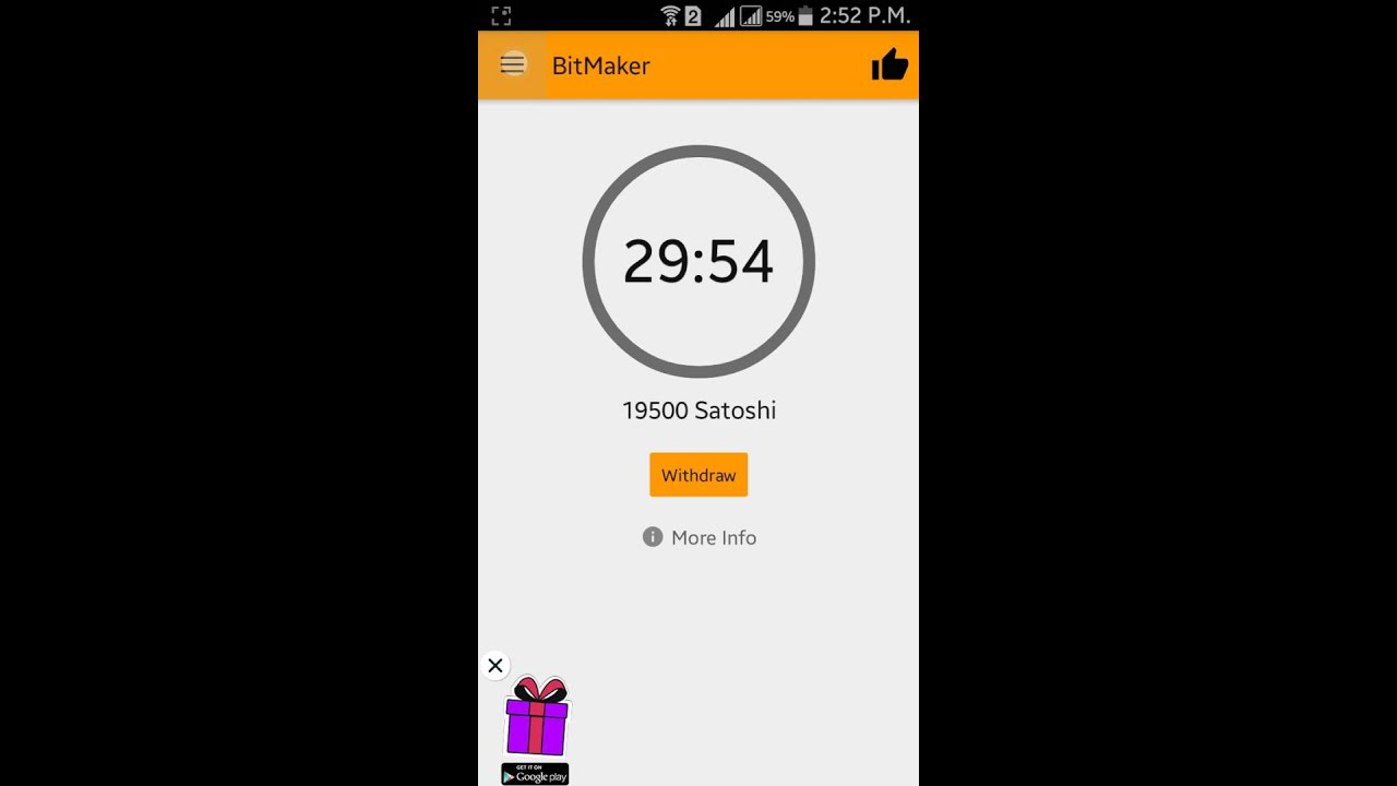 How to earn free bitcoin with android app link discarpation youtube ccuart Choice Image