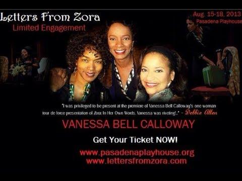 Vanessa Bell Calloway Talks LETTERS FROM ZORA