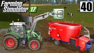 Hodowla krów - Farming Simulator 17 (#40)   gameplay pl
