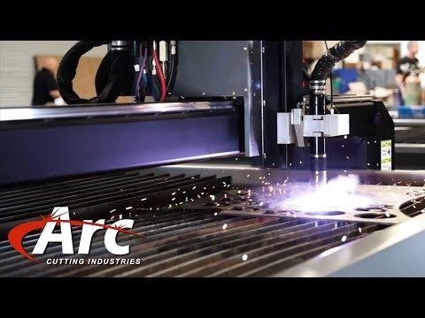 Hypertherm XPR300 on Arc's Plasma Cutting Machine