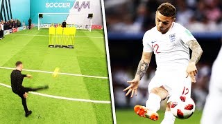 Kieran Trippier's free kick masterclass! | Sunday League Hacks
