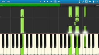 Pink Floyd - Marooned Piano Tutorial - Synthesia
