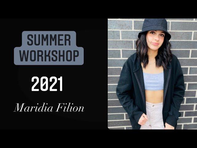 Summer Workshop 2021 - Maridia Filion