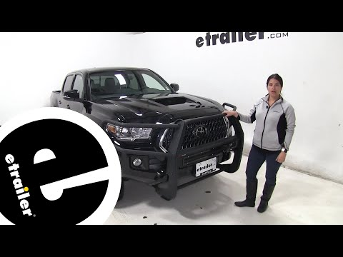 Etrailer | Aries Pro Series Grille Guard Installation - 2019 Toyota Tacoma