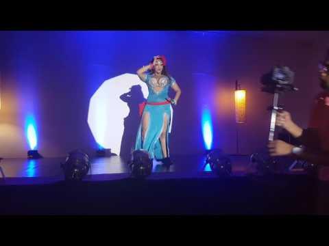 """Sonya Of Cairo """" Festival Cairo Light """"  Marrakech Oct 2016"""