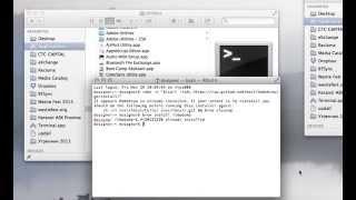 Rtmpdump OS X