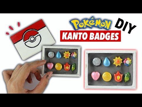 DIY MAGNETIC Pokémon Clay Badges?!