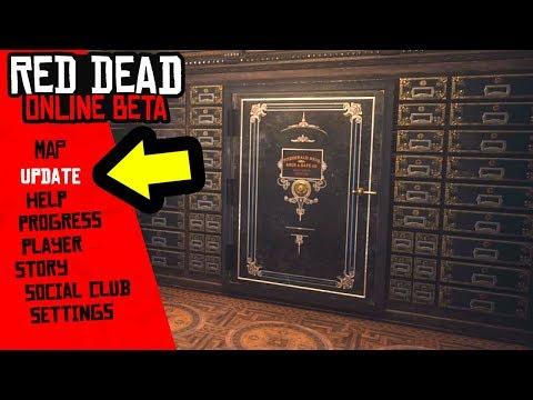 NEW Red Dead Online Update! Bank HEIST DLC Mission!