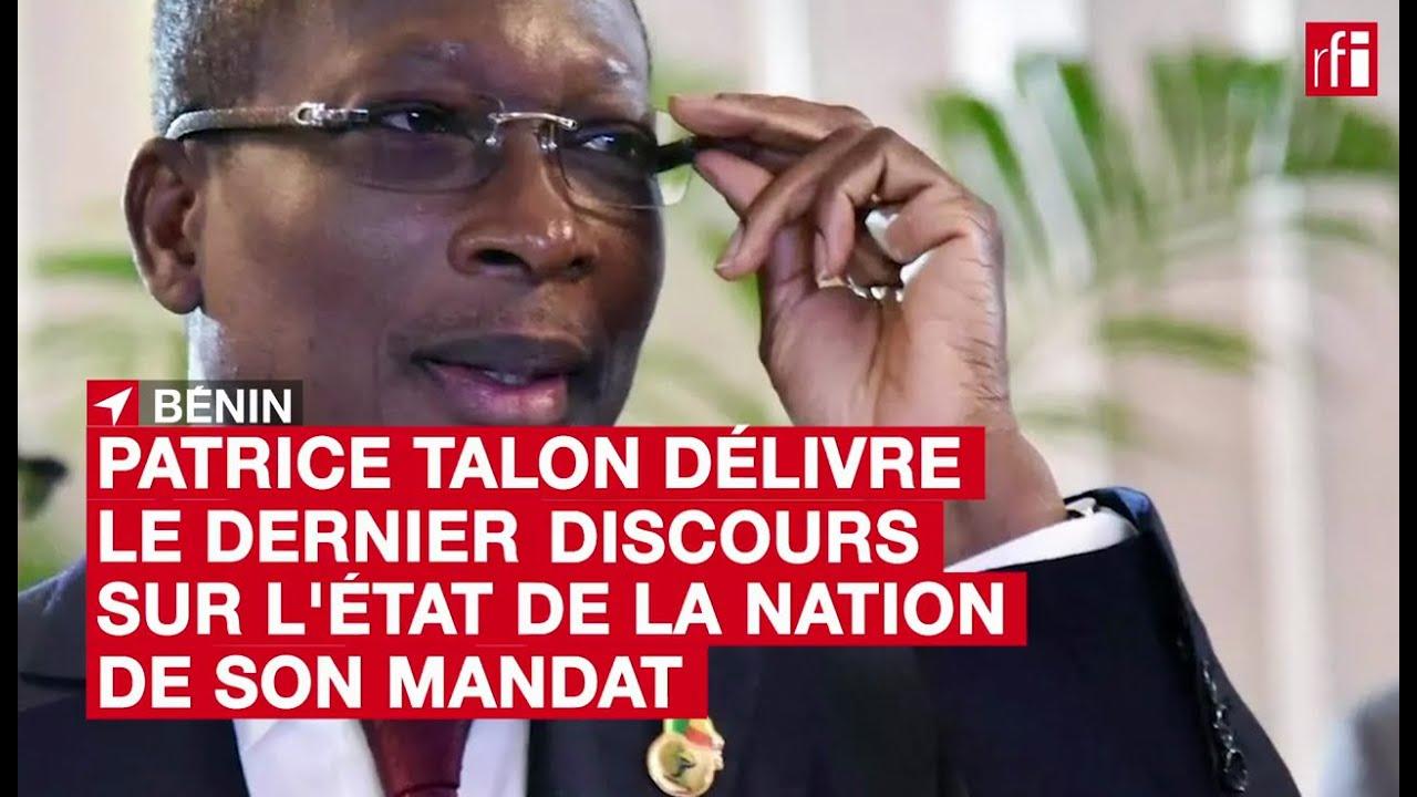 #Bénin: Patrice Talon délivre le dernier discours sur l'état de la nation de son mandat