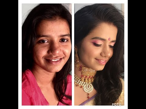 Make Artist Shweta Sahay (ex co Owner-Lakme Salon, Patna) works her magic on yet another face..
