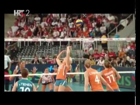 volleyball spike, hand swing in slow motion.mp4