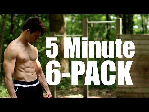 5 Minute Bar Workout | Complete Core | 6-Pack Abs