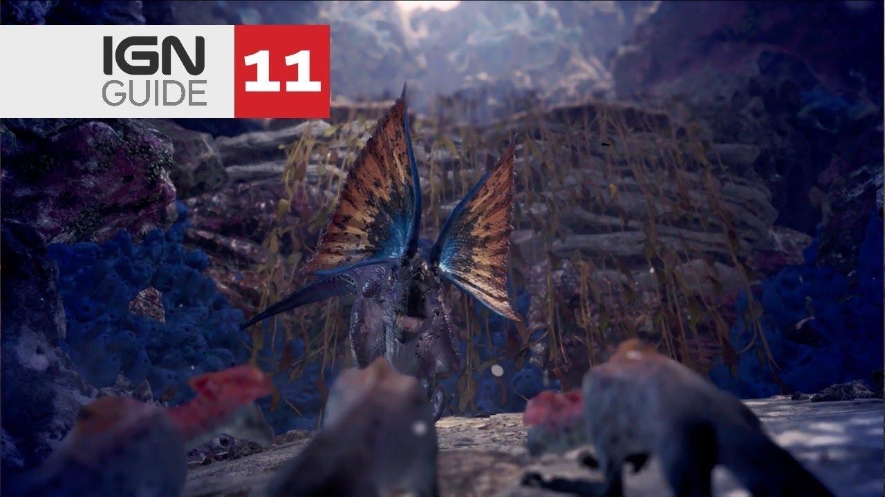 47a1d34d82d641 Monster Hunter  World Walkthrough - Expedition  Coral Highlands ...
