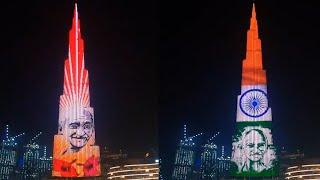 Burj Khalifa lit up with Mahatma's image as Dubai celebrates Gandhi Jayanti