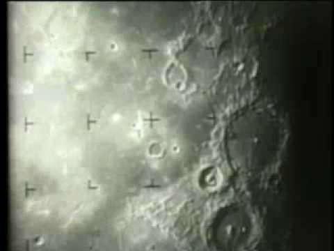 Ranger Spacecraft Impact on Moon