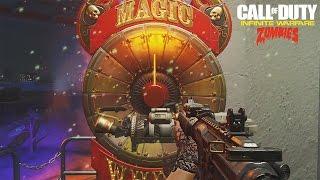 INFINITE WARFARE ZOMBIES GAMEPLAY, WEAPONS, STORYLINE LIVE BREAKDOWN (Zombies In Spaceland Gameplay)