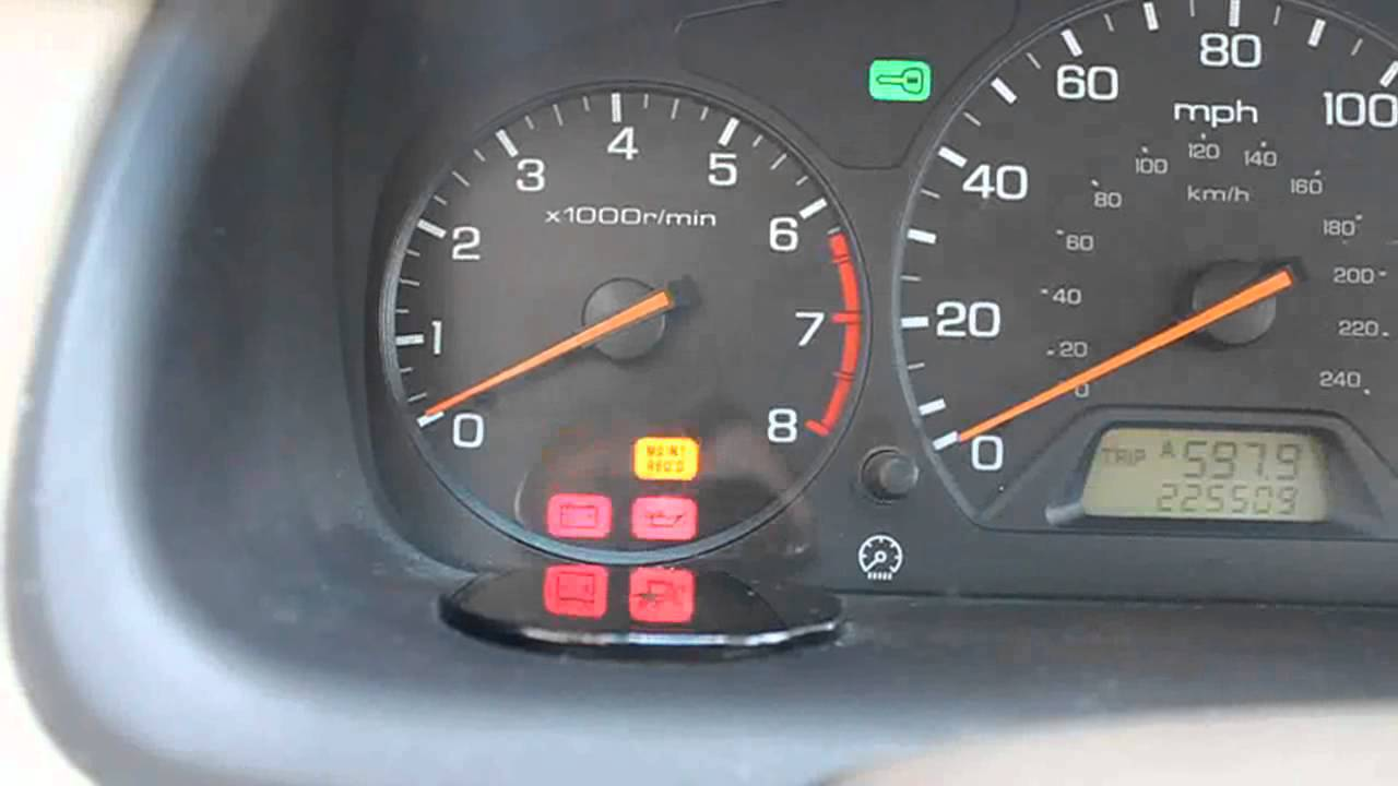Diagnosing A Check Engine Light On 6th Generation Accord Without Code Reader