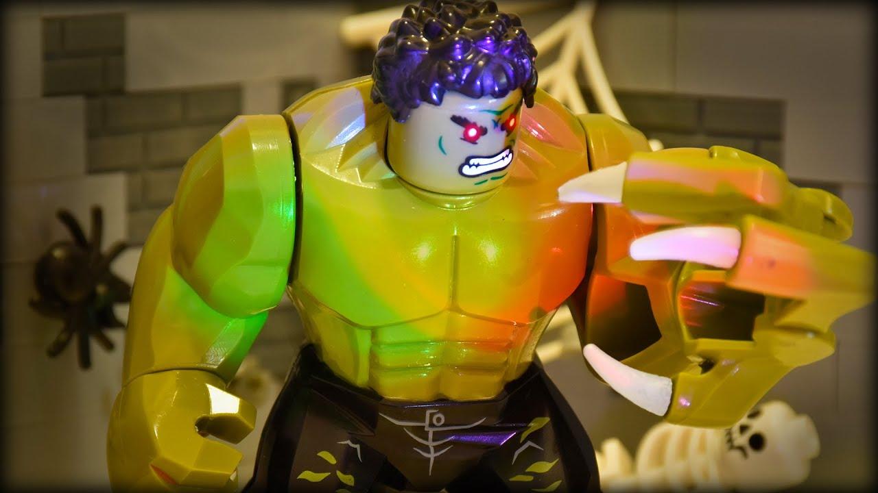 LEGO Hulk Becomes The Monster (Marvel Superhero)
