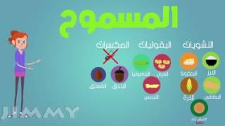 Plant Based Diet (egypt) infographics بالعربى