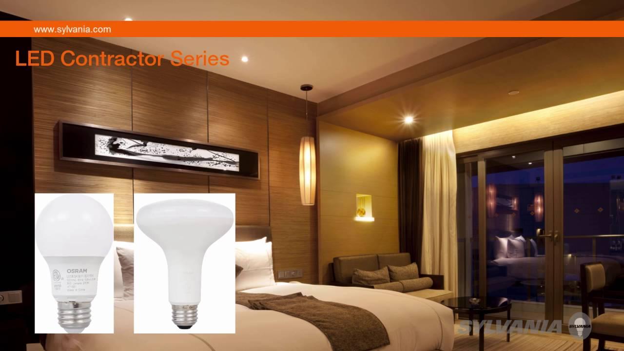 Sylvania contractor series led retrofit lamps youtube sylvania contractor series led retrofit lamps arubaitofo Choice Image