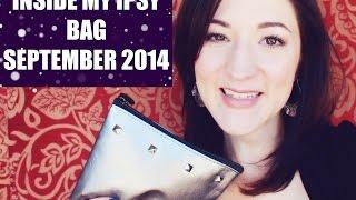 Inside My Ipsy Bag - September 2014 Thumbnail