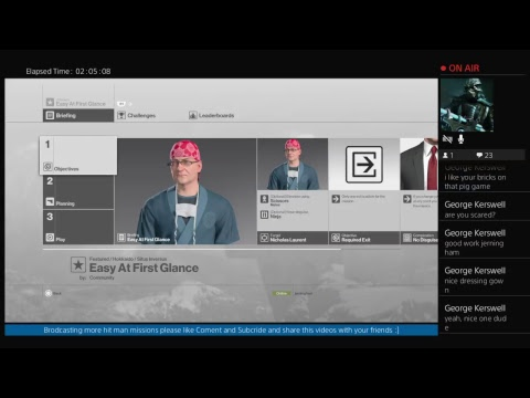 Brodcasting more hit man missions please like Coment and Subcride and share this videos:]