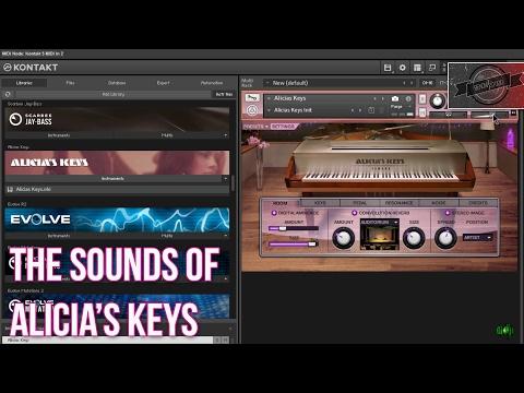 alicia keys kontakt