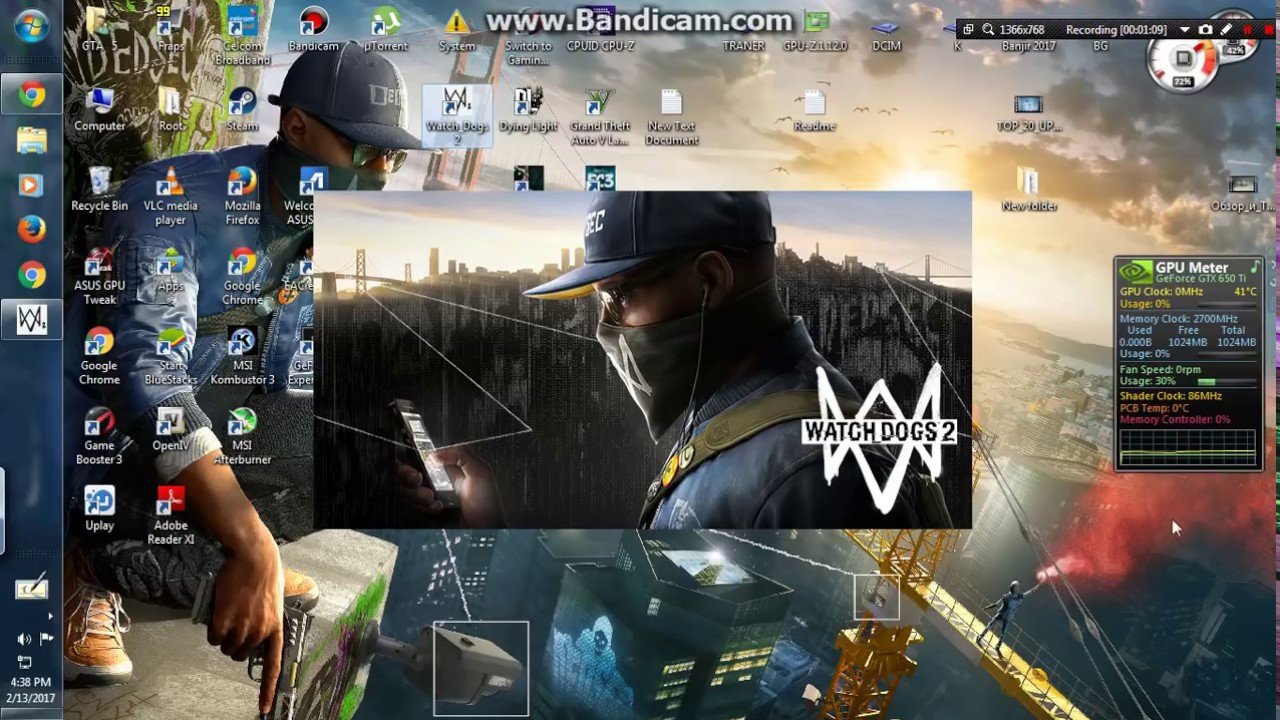 How To Fix Watch Dogs  Black Screen