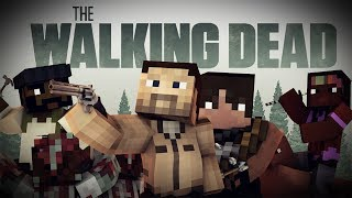THE WALKING DEAD MOD - Personajes, armas y Caminantes! - Minecraft mod 1.7.10 y 1.8 Review ESPAÑOL