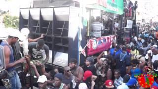 Dominica Carnival 2015: Jouvert Morning: Roseau