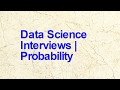 Analytics Interview | Questions on Proba