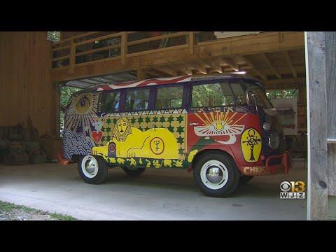 Celebration Of Re-Creation Of Iconic Woodstock Volkswagen Van To Be Held In Baltimore