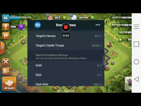 How to hack clash of clans using xmod