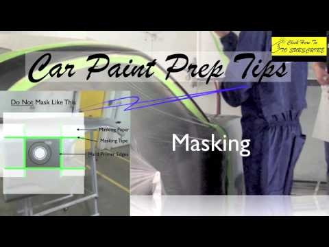 What You Need To Know Before Painting Car