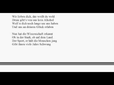 Zum 60 Geburtstag Max Und Moritz Youtube
