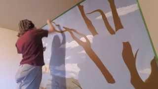 Australian Mural // Time Lapse //