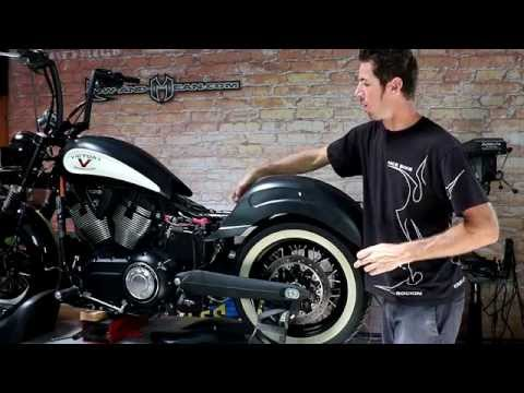 victory high ball rear fender install by low and mean youtube rh youtube com Custom Victory High-Ball 2013 Victory High Ball Custom