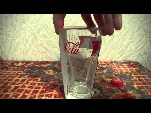 Коллекционный стакан Coca Cola