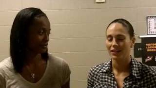 Sue Bird & Swin Cash reflect on WNBA