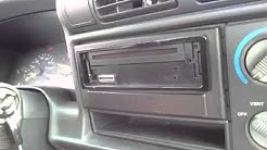 HipsterHowToVid - Part One - Replacing and Removing a Faceplate from a car stereo!!!