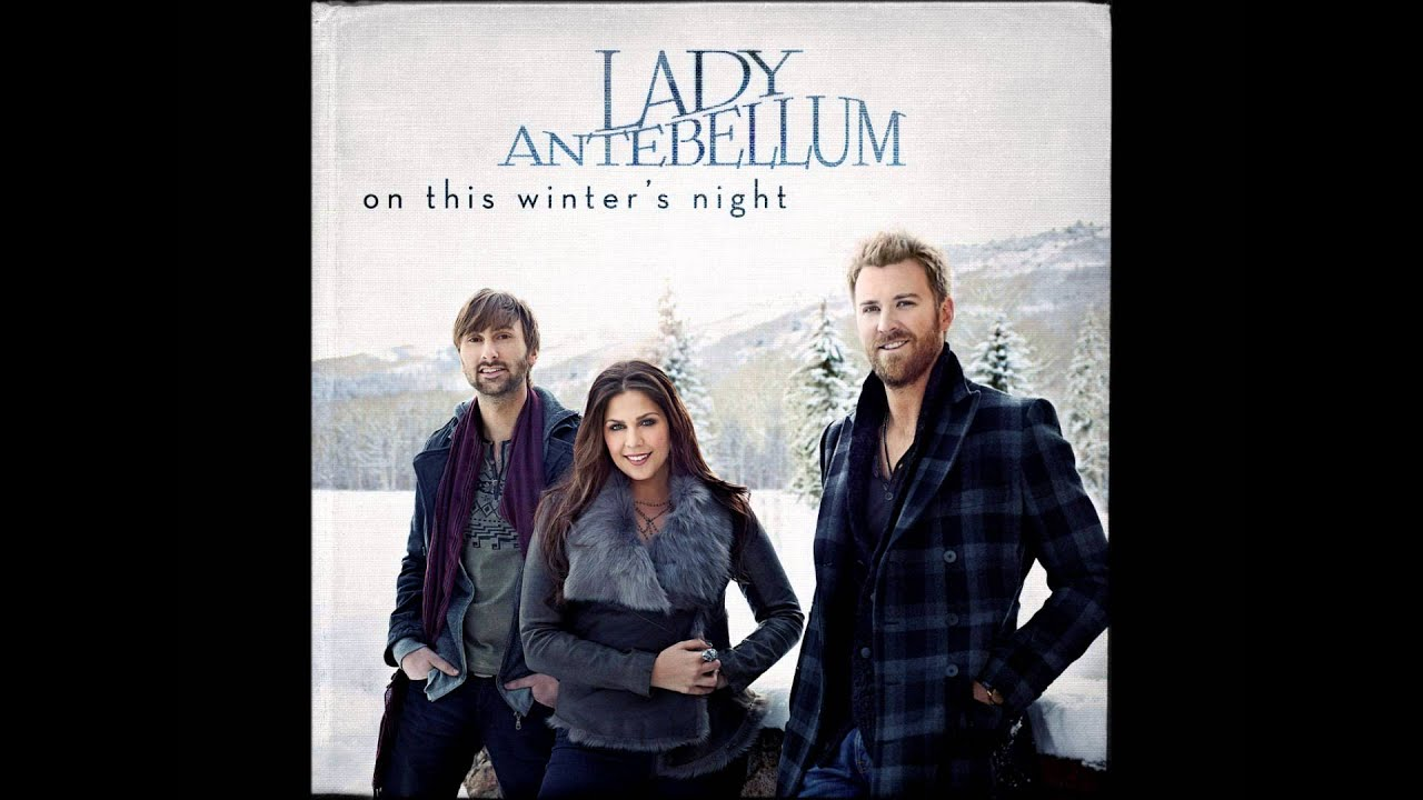 christmas baby please come home by lady antebellum album cover hd youtube