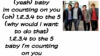 Count on you Lyrics - Jordin Sparks feat. Big Time Rush