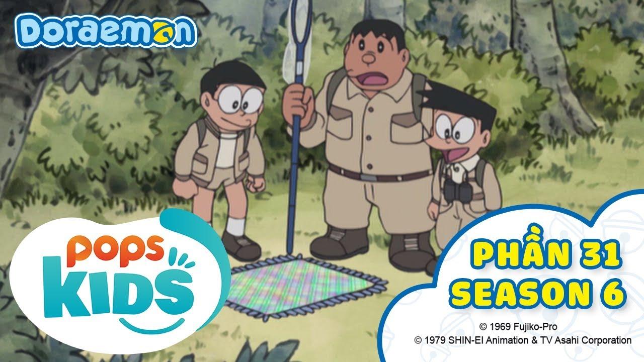 [S6] Tuyển Tập Hoạt Hình Doraemon - Phần 31 - Trang Trại Bánh Kẹo, Chiến Lược Không Đi Học Trễ