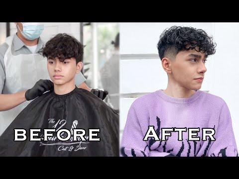how-i-cut-my-hair-|-curly-undercut-|-as'ad-motawh