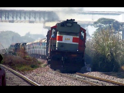 Thumbnail: Fast Diesel Trains : Aggressive Diesel Monsters Rule this Section : Indian Railways